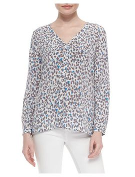 michi-long-sleeve-printed-blouse by joie