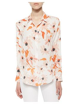 perfect-floral-print-blouse by theory