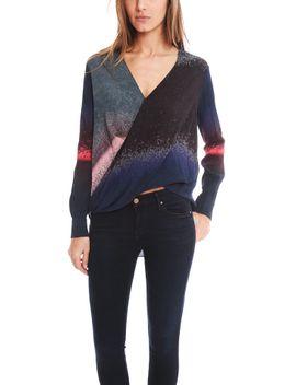 10-crosby-derek-lam-long-sleeve-wrap-front-blouse by 10-crosby-by-derek-lam