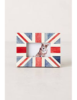 union-jack-frame by anthropologie