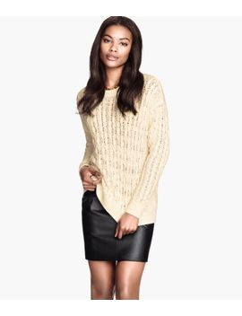 cable-knit-jumper by h&m