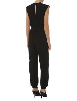 luxe-black-animal-jumpsuit by dorothy-perkins
