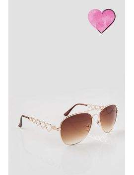 heart-chain-sunglasses by francescas