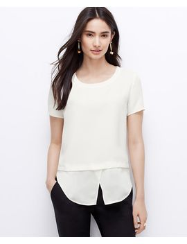 two-in-one-crepe-top by ann-taylor