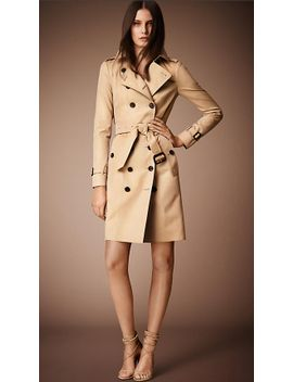 the-sandringham-–-long-trench-coat by burberry