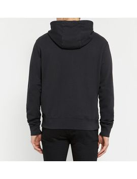 johna-cotton-blend-jersey-hoodie by acne-studios