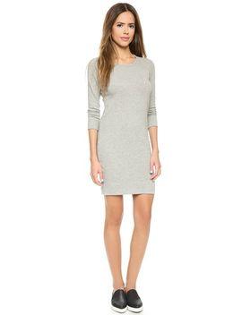 raglan-sweatshirt-dress by james-perse