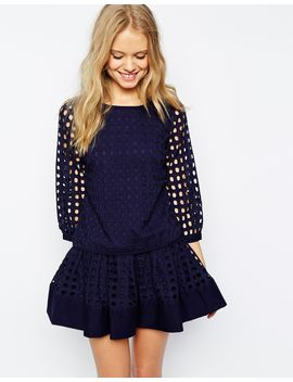 jack-wills-eyelet-top-co-ord by jack-wills