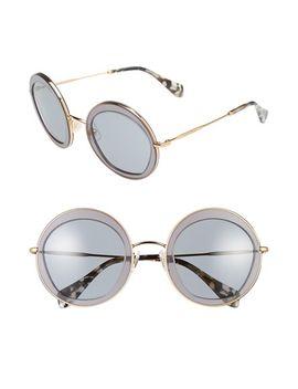 52mm-retro-sunglasses by miu-miu