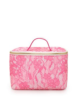 lace-print-makeup-case by forever-21