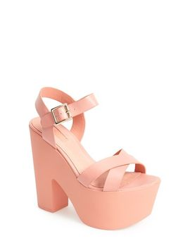 launch-ankle-strap-platform-sandal by topshop