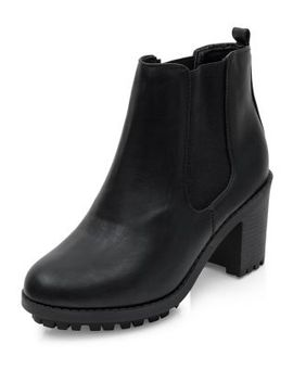 wide-fit-black-block-heel-chelsea-boots by new-look