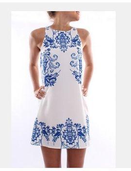 hot-sale-women-dress-2014-summer-new-fashion-elegant-dress-sleeveless-dress-retro-print-dress-femme-vestido-round-neck-dress by ali-express