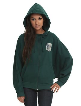 attack-on-titan-scout-regiment-girls-costume-hoodie by hot-topic