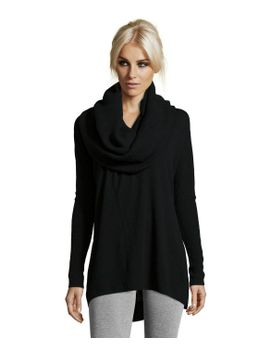 black-cashmere-oversized-cowl-neck-sweater by cashmere