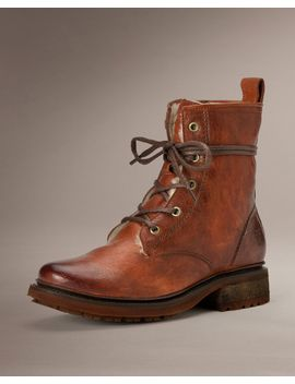 valerie-lace-up-shearling by frye