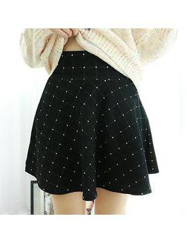 plaid-a-line-mini-skirt by dodostyle