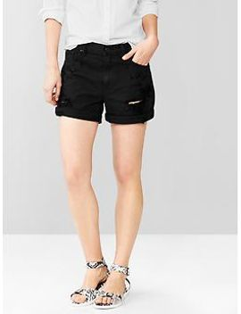 1969-destroyed-sexy-boyfriend-denim-shorts by gap