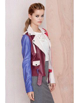 mac-x-nasty-gal-stunner-leather-moto-jacket by nasty-gal