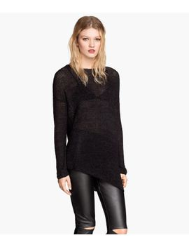 asymmetric-sweater by h&m