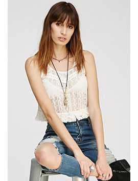 embroidered-lace-fringed-top by forever-21