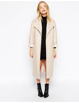 abrigo-duster-de-lana-texturizada-de-asos by asos