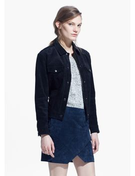 suede-wrap-skirt by mango
