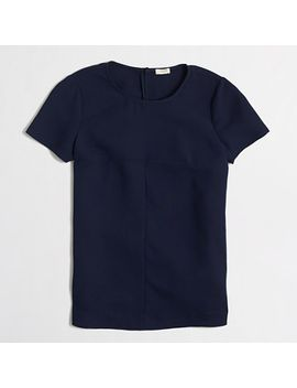 matte-crepe-t-shirt by jcrew