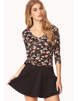 darling-floral-top by forever-21