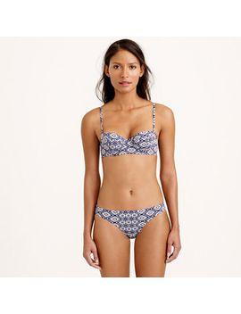 indigo-batik-underwire-bikini-top by jcrew