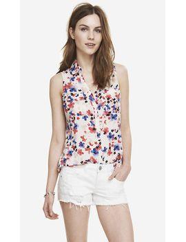 impatiens-garden-sleeveless-portofino-shirt by express
