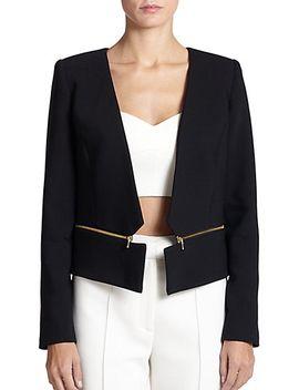 zip-blazer by milly