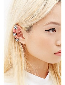 engraved-earcuff by forever-21