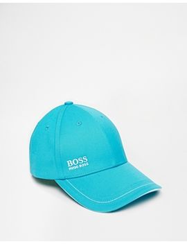 hugo-boss-logo-baseball-cap by hugo-boss