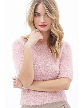 contemporary-fuzzy-knit-top by forever-21