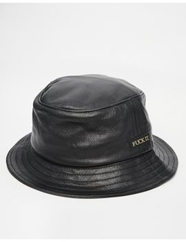 huf-leather-bucket-hat by huf