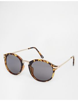 asos-round-sunglasses-with-metal-nose-bridge-and-arms by asos-collection