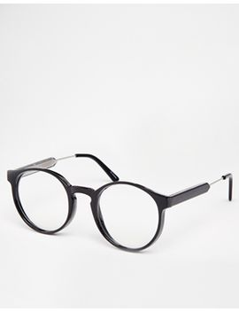 spitfire-round-clear-lens-glasses by spitfire