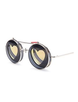 cutout-heart-flip-up-sunglasses by forever-21