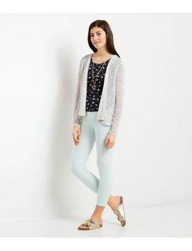 textured-stripe-cardigan by aeropostale