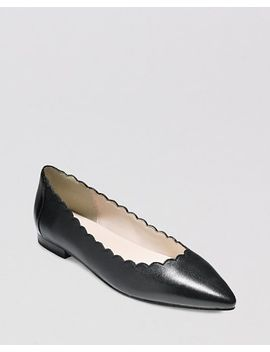 pointed-toe-flats---alice-scalloped by cole-haan