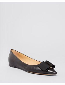 pointed-toe-flats---mimi-bow by salvatore-ferragamo