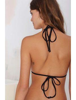 nasty-gal-tropez-bikini-top---black by nasty-gal