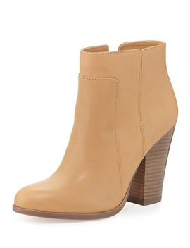 rocker-casual-leather-bootie,-nude by pour-la-victoire