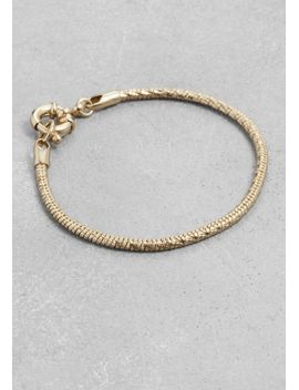 snake-chain-bracelet by &-other-stories