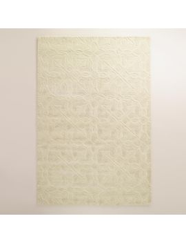 ivory-classic-carved-wool-rug by world-market
