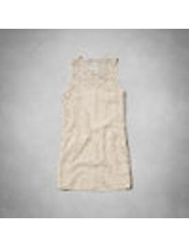 casey-lace-shift-dress by abercrombie-&-fitch