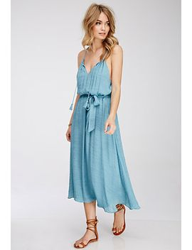 textured-crepe-maxi-dress by forever-21