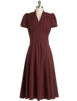 radio-hour-dress-in-wine by modcloth