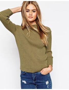 asos-turtle-neck-jumper-in-rib by asos-collection